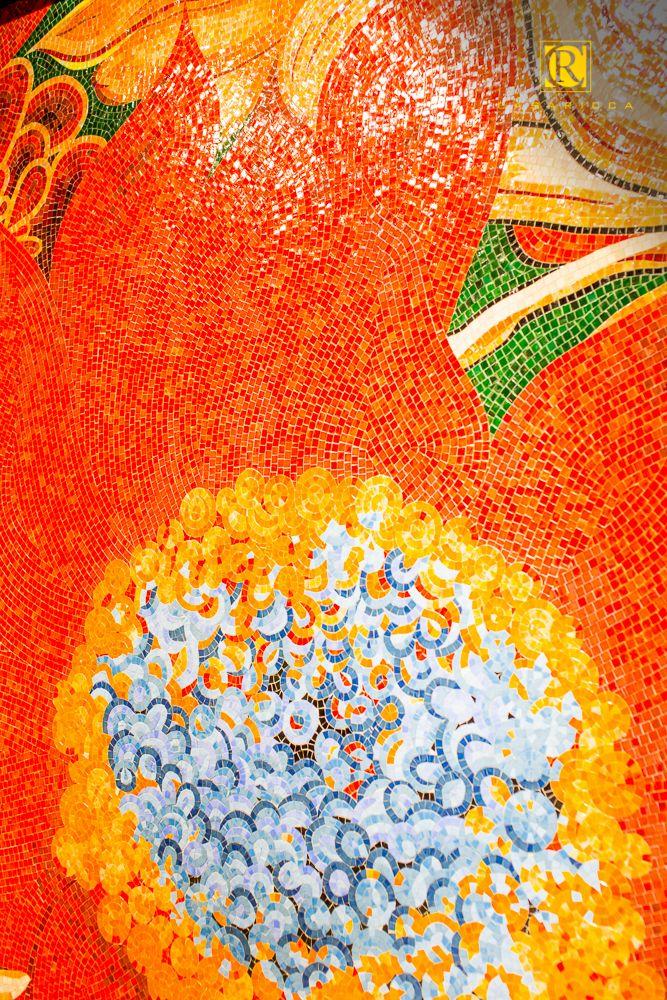 Итальянская плитка, керамогранит от АРДОСТУДИО. Художественная мозаика.