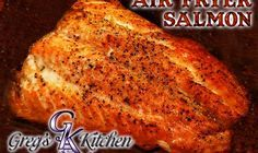This is one of my newest recipes for my Air Fryer. I can't help but falling more and more in love with it. From the taste of the food to the super easy clean up, how could I not? As most of you know, I love salmon and have many recipes here on my site for it. You'll notice though that this one...