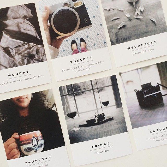 """Loving the clean, simple designs of new #paisleepress minimalist photo templates. #paisleepressct #azzariprojectlife @liztamanaha"""