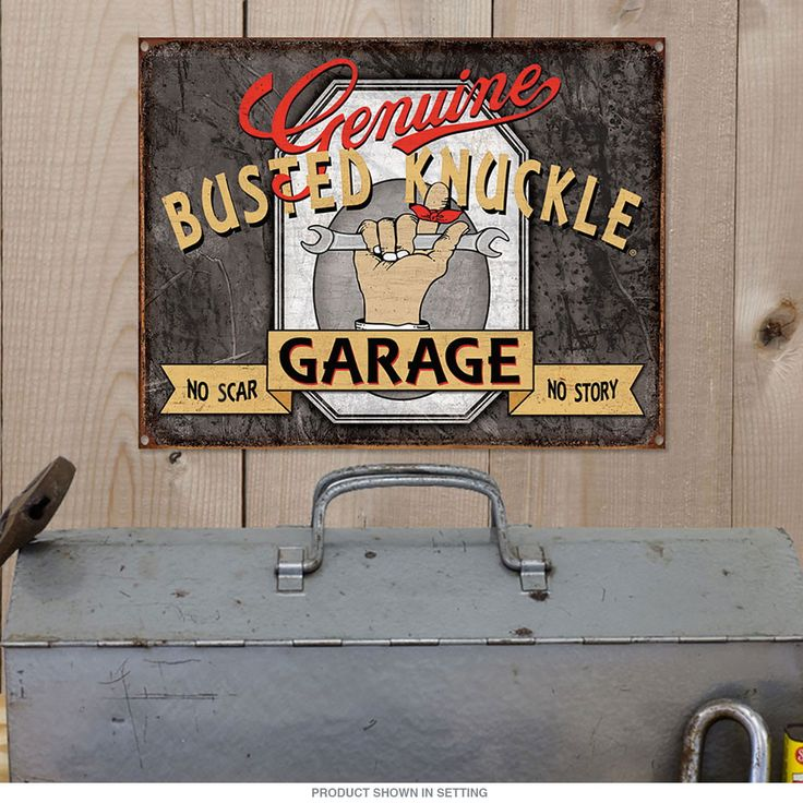 Garage Signs Decor : Best images about vintage car decor on pinterest man