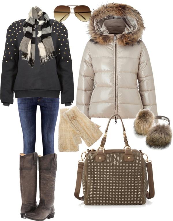 """Apres ski outfit"" by kerisrunway on Polyvore"