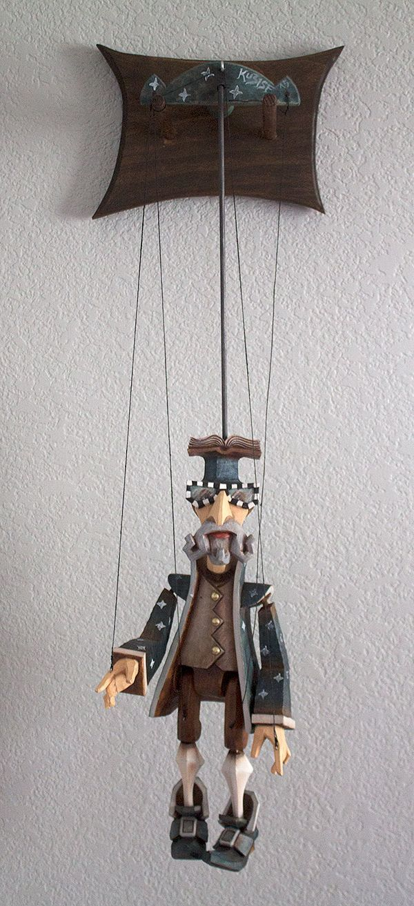 Creative Way To Hang A Marionette Puppet Display Flytrap Creative Display Flytrap Hang Marionette Puppet Marionette Puppet Puppets Wooden Puppet