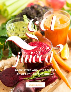 Get Juiced! is the best guide to juicing plus the coolest printer friendly recipe cards.  Transform your body through a straw. Click here to get juiced! http://www.all-about-juicing.com/get-juiced-book.html