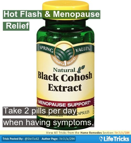 Home Remedies - Hot Flash & Menopause Relief