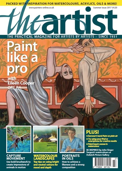 Summer 2017 The Artist. Buy online, http://www.painters-online.co.uk/