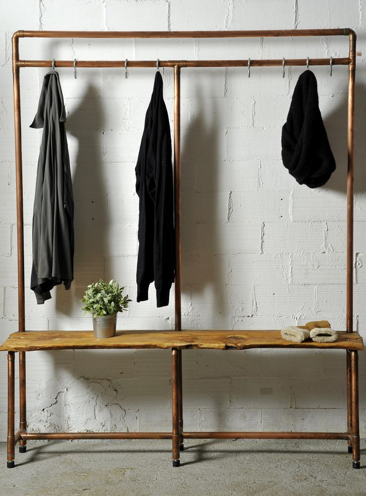 7 best furniture percheros images on pinterest clothing - Burras para ropa ...