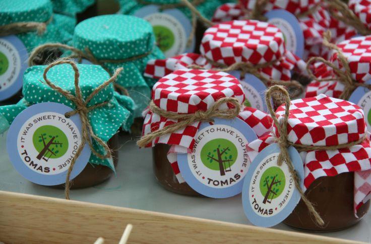 bunco favors - summer picnic theme
