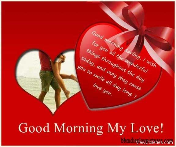Good Morning My Love Couple Images : Best good morning love images on pinterest