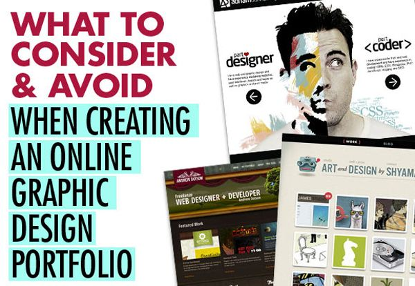 A Know How To Make A Graphic Design Portfolio Unique
