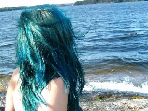 : Mermaids Hair, Bluehair, Long Hair, Teal Hair, Blue Hair, Inspiration Pictures, Turquoi Hair, Colors Hair, Girls Hair