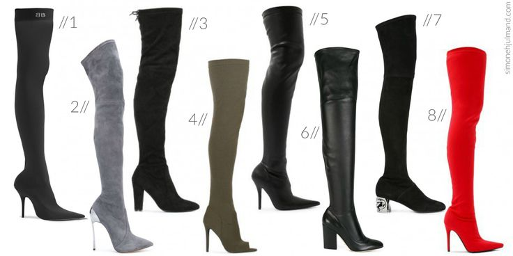 WHY YOU SHOULD ADD THIGH HIGH BOOTS TO YOUR WARDROBE // Black Thigh High Boots, Grey Thigh High Boots, Red Thigh High Boots, Khaki Green Thigh High Boots, Heeled Boots, Luxury Fashion, Designer Brands, Designer Fashion, Fashion on a Budget, Balenciaga, Casadei, Public Desire, Sergio Rossi, Luxury Lifestyle, Fashion Inspiration, Style Inspiration, Fashion Idea, Style Idea, Fashion Blog, Fashion Blogger, Style Blog, Style Blogger // simonehjulmand.com