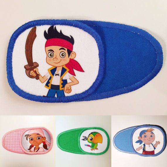 Eye patch for children with Jake and Neverland от MalinkaArt