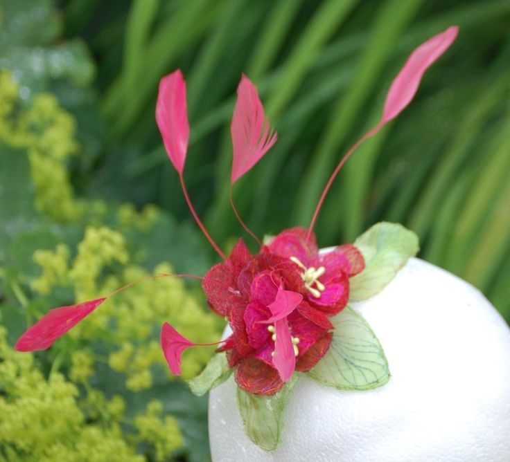 Small fascinator. Similar can be made to match any outfit. NICOLA HAIGH