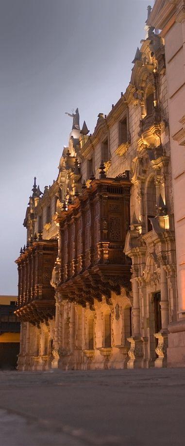 Archbishop's Palace , Lima, Peru