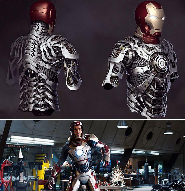 iron man movie scenes   Best of 2013 (Behind the Scenes): 'Iron Man 3' VFX artists on the Mark ...