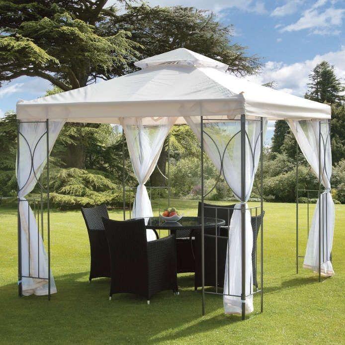 Garden Patio Gazebo Outdoor Pavilion Tent Canopy Sun Shade Shelter Marquee