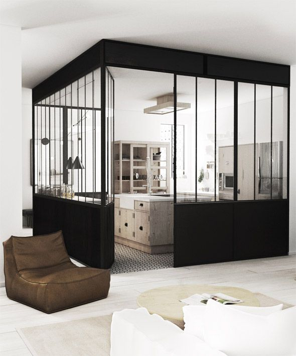 Industrial Kitchen Windows: 143 Best GLASS WALL LOVE Images On Pinterest