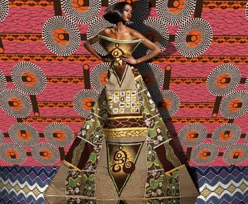Move over Klimt: African Wax Prints « Katrin Leblond Blog