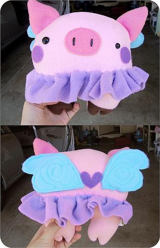 fairy pig craft