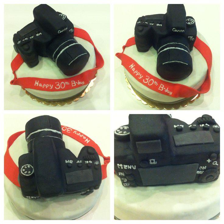 Tort urodzinowy - Aparat fotograficzny Canon