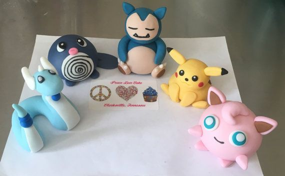 Cake Decorating Fondant Characters : The 13 best images about pokemon birthday on Pinterest ...