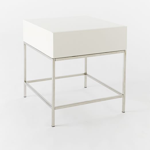 Lacquer Storage Side Table | west elm