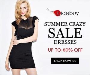 College Students need to check out the great offers at Tidebuy.  Clothing is up to 80% off!  Check it out.  Terry