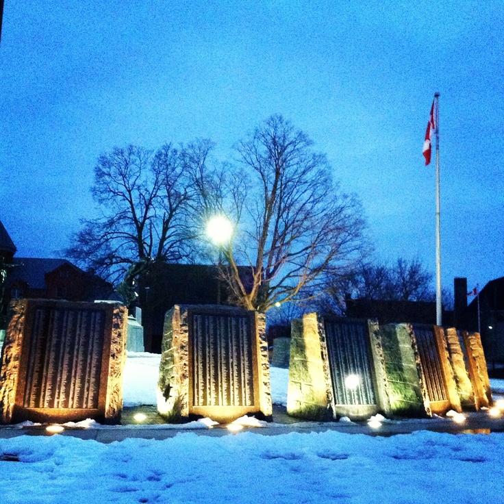 Confederation Park, Peterborough Ontario