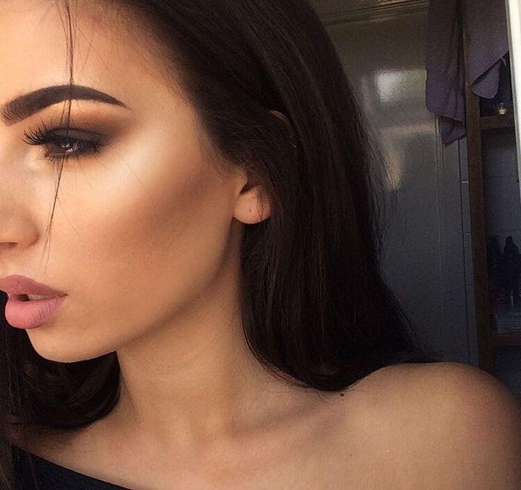 Makeup Inspiration: Highlighter and Smokey Eye