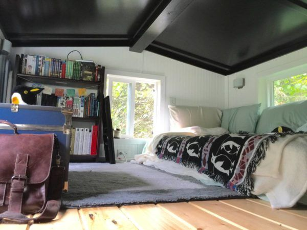335 Sq Ft Tiny House On Wheels In Seattle Wa Tiny House On Wheels Tiny House Living Tiny Bedroom