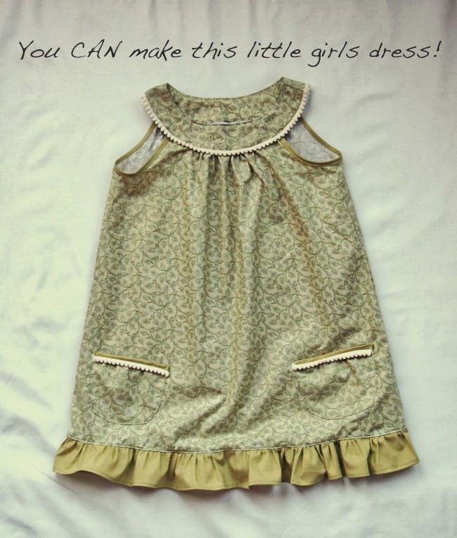 Free Japanese Pattern (With English Instructions!). A cute, girls' pom pom dress!