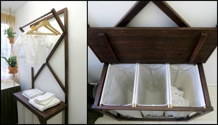 Best 25+ Double Laundry Hamper Ideas On Pinterest
