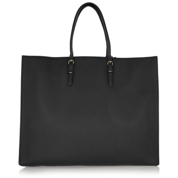 Balenciaga Papier A4 Metallic Edge textured-leather tote ($2,370) ❤ liked on Polyvore featuring bags, handbags, tote bags, black, travel tote, balenciaga handbags, tote handbags, handbags totes and pocket purse