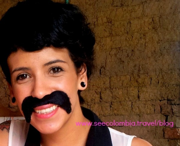 Don't mess with a woman with a mustache and sharp pointy implements.    http://seecolombia.travel/blog/2012/10/peluqueria-bogota-dont-mess-with-a-woman-with-a-sharp-pointy-implement/