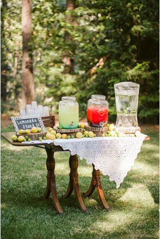 Свадебный лимонадный бар - The-wedding.ru