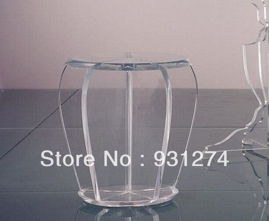 Acrylic Stool/Perspex Plexiglass Dining Stool/Lucite Chair/Vanity Chair /Acrylic Furniture