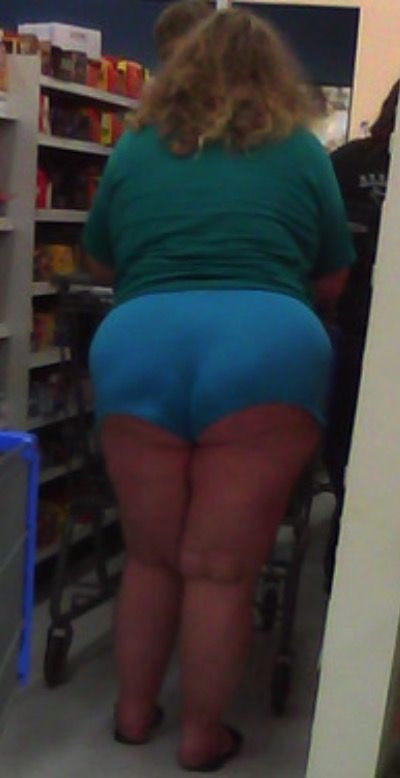 Extra Small Blue Shorts at Walmart - Funny Pictures at Walmart