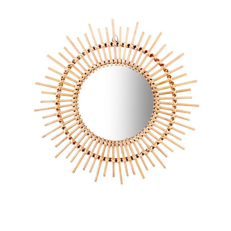 17 meilleures id es propos de miroir de bambou sur for Miroir en bambou
