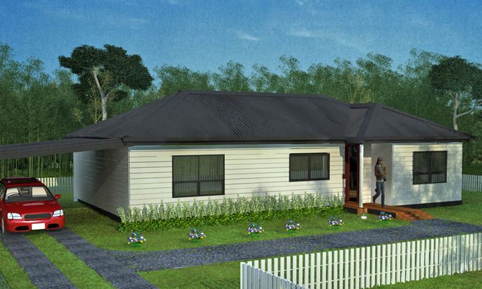 Anchorage: Affordable 3 bedroom family house, suitable for young and growing families.