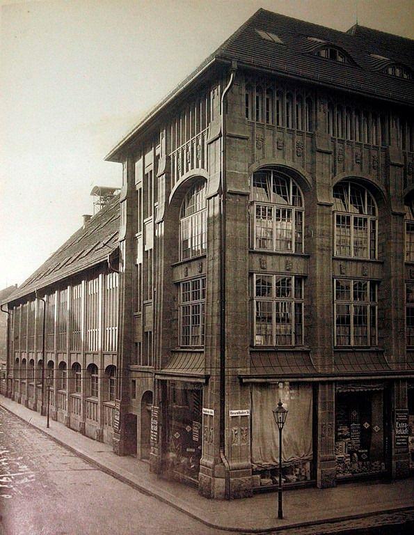 Wertheim Kaufhaus in der Rosenthaler Straße 27, E…