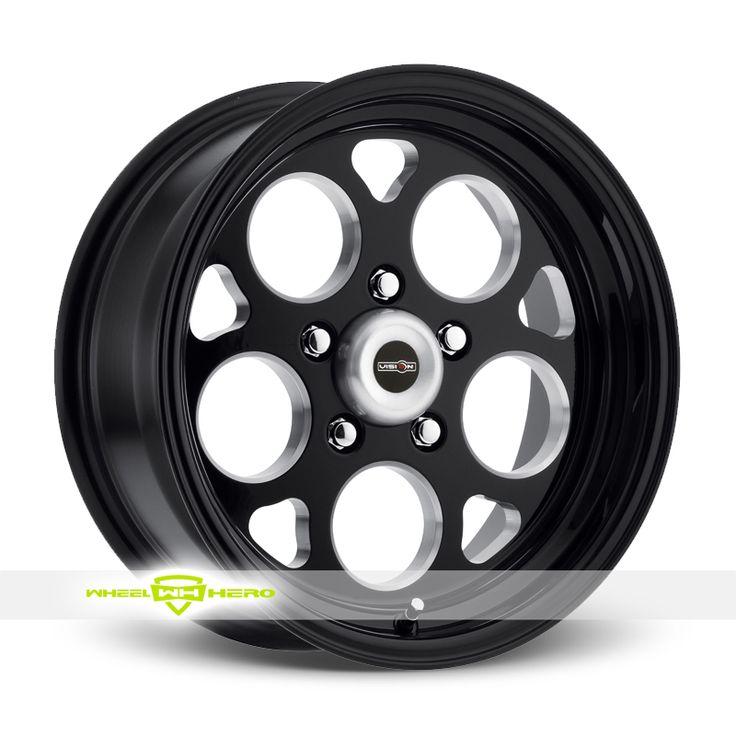 American Muscle 561 Sport Mag Black Milled Wheels For Sale & American Muscle 561 Sport Mag Rims And Tires