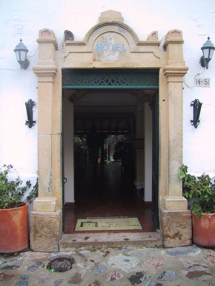 Portón en Villa de Leyva, Colombia