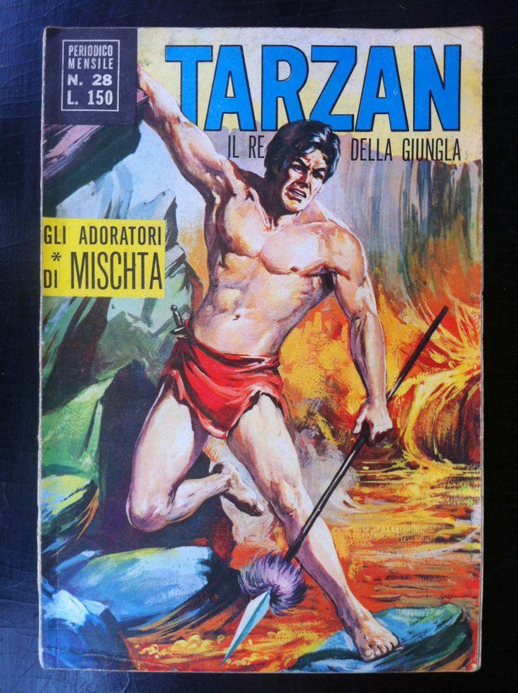 TARZAN 1° Serie n. 28 , Ed. Cenisio (1970) Il re della giungla - Mensile