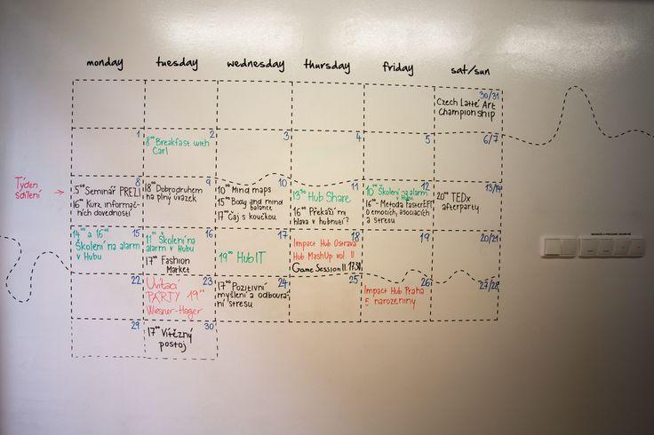 Impact Hub v Brně umí využít Chytrou zeď a vytvořit na ní originální rozvrh. Nechte se inspirovat! :) ---- Impact Hub Brno knows how to use Smart Wall and it created original schedule. Get inspired by them! www.chytrazed.cz www.smartwallpaint.cz