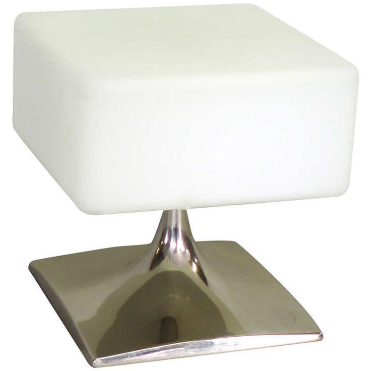 square form laurel lamp glass globemodern table - Modern Table Lamp