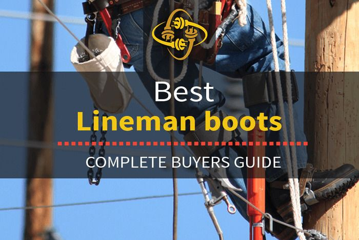 In The Quest To Find The Best Lineman Boots Available We Review The Top 11 Lineman Boots On The Market Whether You Re Look Lineman Lineman Tools Electrician