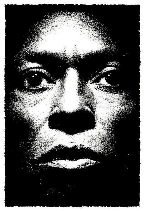 """Miles Davis, Tutu"" 10.2009 China su carta ruvida Fabriano 200 gr. - 35x50 cm #portrait #art #music"