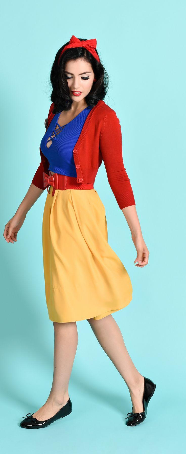 Modern Day Snow White Disneybounding Idea