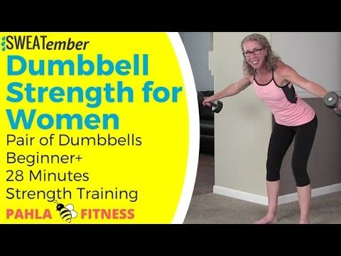 sweaty strength body shaping dumbbell resistance workout