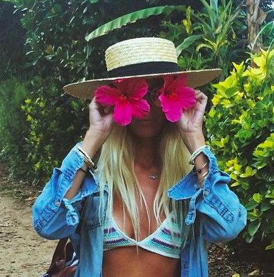 tropical beach outfits
